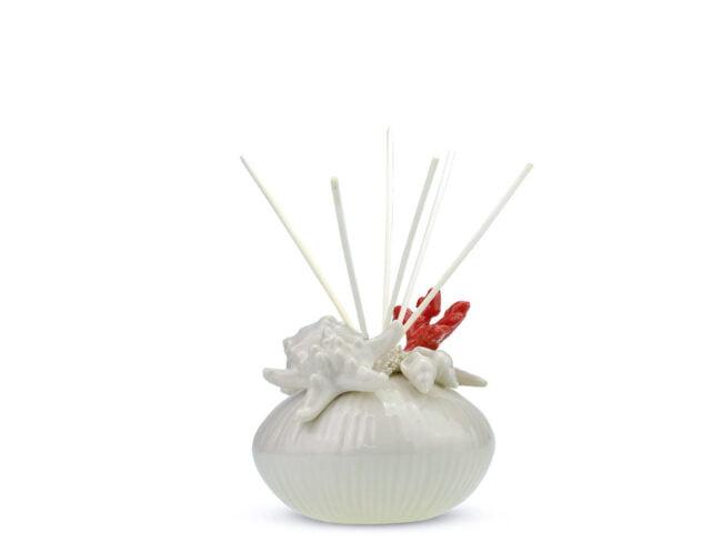 diffusore per ambienti in porcellana con bastoncini