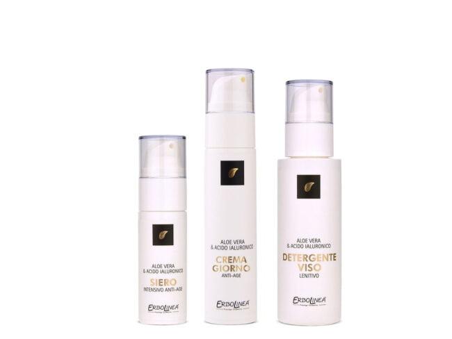 Linea cosmetica viso <br> Borsetta 3 prodotti